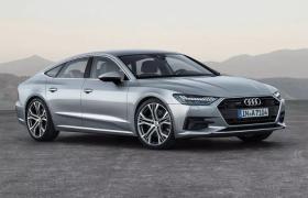 介于C級行政和D級豪華轎車之間的四門運動豪華Coupe奧迪Audi A7轎跑車3D模型