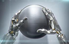 edius下载 机器手臂开启铁球logo完美揭示时尚科技片头