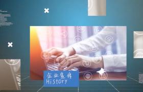 科技震撼企業圖文展示宣傳動感視頻PR模板