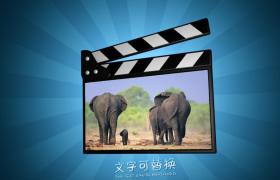 动感温馨的影片板图片展示旅游写真视频制作PR模板