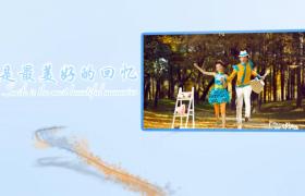 陪伴是最长情的告白唯美婚礼相册照片展示视频PR模板