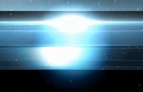 藍色質感玻璃條狀切換光效配合演繹edius圖文展示模板