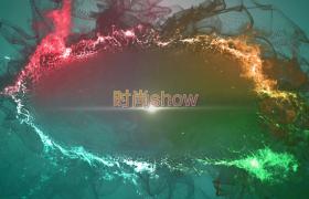 絢麗多彩火焰光圈變幻影視片頭Edius6.54模板