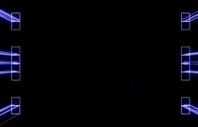 矩形方块动感节奏扩散屏幕闪烁震撼VJ舞台背景视频素材