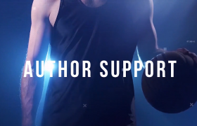 高級分屏特效時尚瑜伽健身房增肌減脂宣傳片PR視頻模板