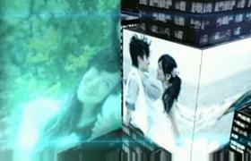 建筑房间灯光光阵列婚礼主题婚礼照片预告宣传AE模板