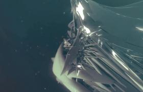 质感金属液体高级魔力变幻MOV特效视频素材