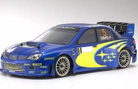 狂野彎道霸主斯巴魯impreza翼豹WRC拉力賽車改款C4D工程渲染模型展示
