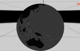 空间三维旋转球体快速制作属性统一修改AE插件Power Sphere 1.1.6破解版下载