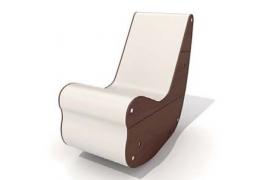 人体工程构造科学设计高品质格调躺椅C4D模型展示(含贴图)
