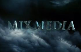 AE標題模板 震撼陰森的電影質感三維文字標題展示宣傳影片開場模板