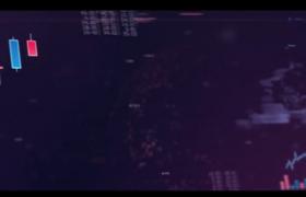 城市商务合作股票投资电子数据图文化展示AE开场视频模板