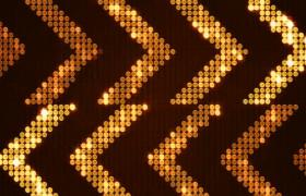 双向阵列箭头灯光秀交错前行动感VJ视频素材