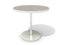 連鎖便利超市加熱快餐簡食圓形餐桌C4D模型(含貼圖)