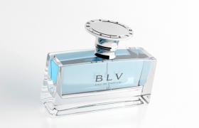 BLV沁藍女士香氛高雅國際時尚品牌香水C4D模型(vray渲染)