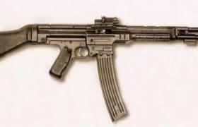 世界出现最早的突击步枪纳粹德国MKB42自动枪械C4D模型展示
