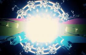 虚幻水圈体光效迷离变幻震撼特效片头视频背景下载