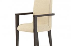 高品質軟性座墊實木凳酒店裝飾設計家居陳設C4D模型