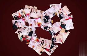 浪漫相册心语心愿婚庆婚礼过程展示AE模板下载