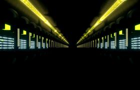 空間燈光隧街循環動態穿梭炫酷舞臺VJ背景視頻素材