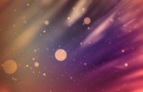 唯美金色光斑粒子漂浮星云閃耀大氣頒獎典禮背景視頻素材