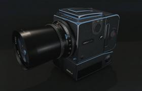 特殊用途攝影完美畫質精確曝光設備哈蘇相機C4D模型