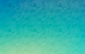 纯色渐变碎三角纸片褶皱PPT背景图片