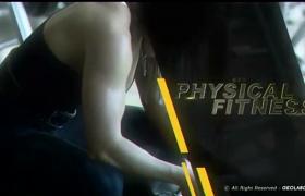 震撼体育运动主题文字标题动画宣传快闪片头AE模板