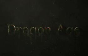 20秒史诗电影开场铁锈脱落揭示LOGO标志动画AE模板