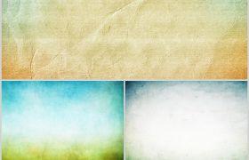 淡纹视觉清新大气抽象风格PPT背景图片素材