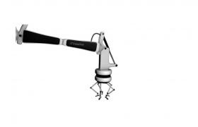 五腳支架機器人robot現代科技自動攝影設備C4D模型(含貼圖)