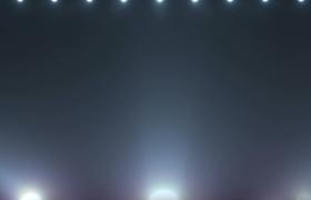 炫白灯光循环旋转大气舞台灯光秀视频素材