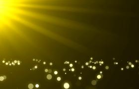 金色粒子漂浮唯美大气浪漫舞台led背景视频素材
