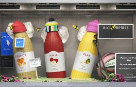 冬季針織保暖服飾宣傳促銷電商活動場景C4D工程渲染模型