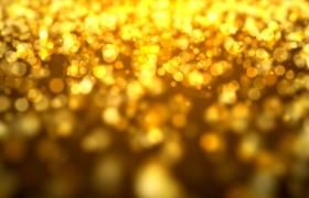 金色梦幻粒子唯美大气婚礼演出颁奖盛典舞台背景视频素材