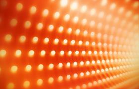 唯美环形旋转的光点舞台灯光秀大气颁奖盛典视频素材