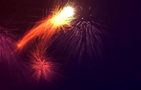 大气烟花粒子酷炫动感描绘美轮美奂粒子运动视频素材