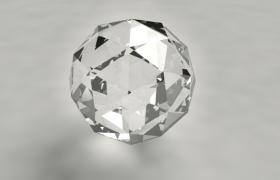 琉璃球狀多邊形水晶鉆石Cinema4d工程模型(含高密度互聯HDI)