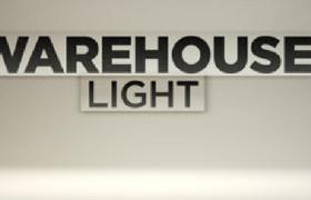 C4D工業廠房儲物倉庫大功率LED夜間照明防爆燈模型