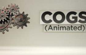 電影機械齒輪聯動動畫大型組合齒輪工業設備C4D模型(含綁定動畫)
