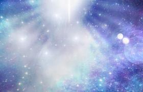 強烈光效震撼照射粒子星空唯美呈現HD特效視頻