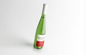 C4D vray渲染高品質細支法國干白葡萄酒模型(含材質貼圖)