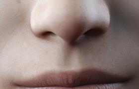 人體五官嘴鼻特寫設計Cinema4D高精度面部建模工程下載
