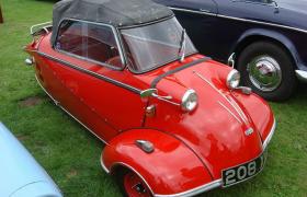 麥思齊美特Messerschmitt KR200迷你可愛的單人小轎車C4D模型