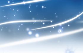 白色光线柔美飘动粒子梦幻洋溢唯美特效视频素材