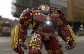 鋼鐵俠巨型戰甲Cinema4D工程渲染模型(含材質包)