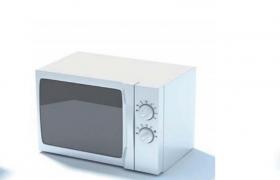 大屏透明玻璃屏幕設計波段電磁波加熱烹飪用具Cinema4D模型