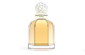 華麗金色宮殿瓶身外觀設計巴黎世家精粹女士香水C4D模型(vray渲染)