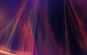 七彩光线三维空间旋转演绎HD特效视频素材