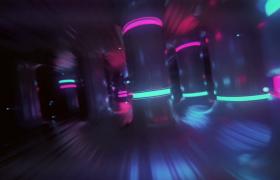 炫酷魔幻三维光效空间穿梭会声会影震撼片头